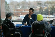 Example picture of one of our Awareness nights at UVU