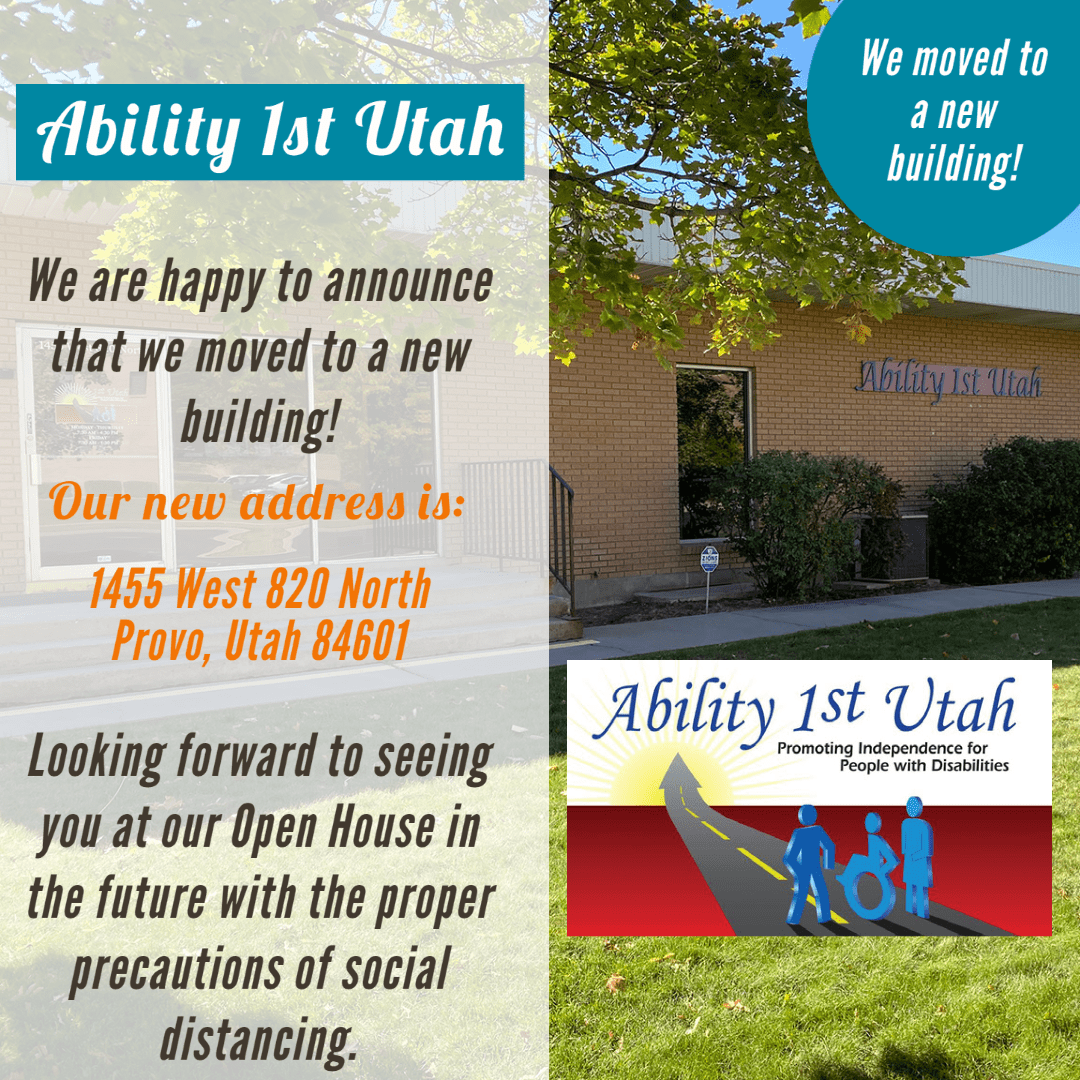 We are happy to announce that we moved to a new building. Our new address is 1455 West 820 North in Provo Utah 84601. Looking forward to seeing you at our Open House in the future with the proper precautions of social distancing.