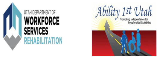 Department of Workforce services logo and Ability 1st Utah logo